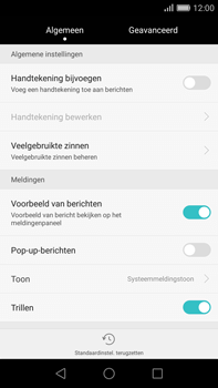 Huawei G8 - SMS - handmatig instellen - Stap 5
