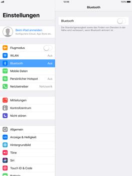 Apple ipad-pro-9-7-inch-mit-ios-11 - Bluetooth - Geräte koppeln - Schritt 6