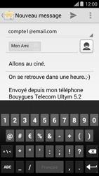 Bouygues Telecom Ultym 5 II - E-mails - Envoyer un e-mail - Étape 10