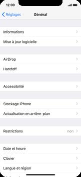 Apple iPhone X - Logiciels - Installation de mises à jour - Étape 6