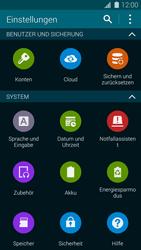 Samsung Galaxy S5 - Fehlerbehebung - Handy zurücksetzen - 6 / 11