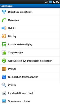 Samsung P1000 Galaxy Tab - WiFi - Handmatig instellen - Stap 4