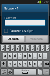 Samsung Galaxy Fame Lite - WiFi - WiFi-Konfiguration - Schritt 7