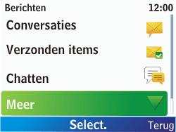 Nokia C3-00 - Voicemail - Handmatig instellen - Stap 4