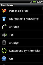HTC A510e Wildfire S - Ausland - Auslandskosten vermeiden - Schritt 6