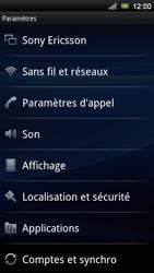 Sony Xperia Neo V - Messagerie vocale - Configuration manuelle - Étape 4