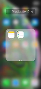 Apple iPhone XS Max - Prise en main - Personnalisation de votre écran d
