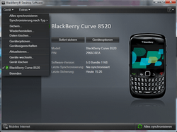 BlackBerry 8520 Curve - Software - Update - Schritt 4