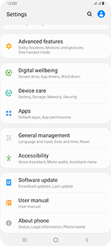 Samsung Galaxy A80 - Applications - How to uninstall an app - Step 4