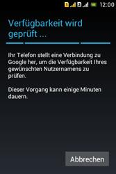 Sony Xperia Tipo Dual - Apps - Konto anlegen und einrichten - Schritt 10