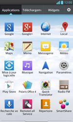 LG E975 Optimus G - Wifi - configuration manuelle - Étape 2