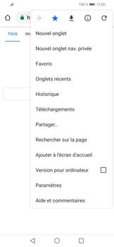 Huawei P Smart (2019) - Internet et connexion - Naviguer sur internet - Étape 12