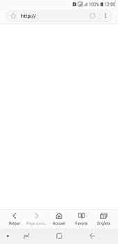 Samsung Galaxy A6 - Internet - navigation sur Internet - Étape 5