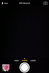 Apple iPhone 4S - Photos, vidéos, musique - Prendre une photo - Étape 6