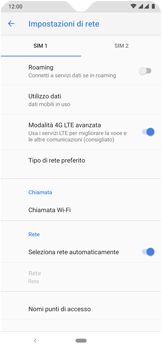 Nokia 7.2 - WiFi - Attivare WiFi Calling - Fase 9