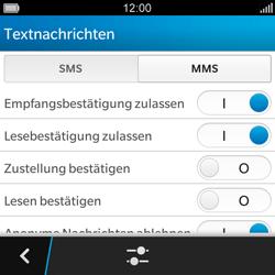 BlackBerry Q5 - MMS - Manuelle Konfiguration - Schritt 7