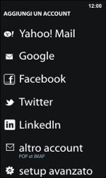 Nokia Lumia 800 / Lumia 900 - E-mail - Configurazione manuale - Fase 6