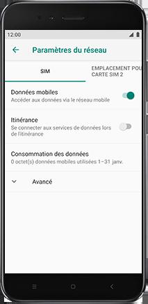 Xiaomi Redmi S2 - Internet - Configuration manuelle - Étape 7