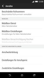 HTC Desire 620 - Anrufe - Rufumleitungen setzen und löschen - 5 / 9