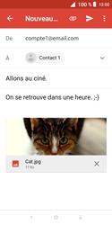 Alcatel 1X - E-mails - Envoyer un e-mail - Étape 15