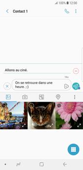 Samsung Galaxy S9 - Contact, Appels, SMS/MMS - Envoyer un MMS - Étape 14