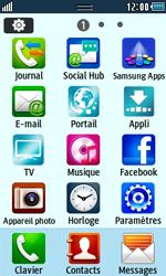 Samsung Wave 723 - Contact, Appels, SMS/MMS - Envoyer un MMS - Étape 3