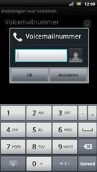 Sony Xperia Neo - Voicemail - Handmatig instellen - Stap 7