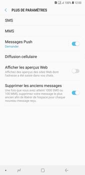 Samsung Galaxy A7 (2018) - SMS - configuration manuelle - Étape 7