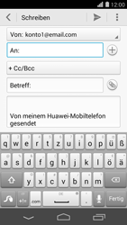 Huawei Ascend P7 - E-Mail - E-Mail versenden - 5 / 16