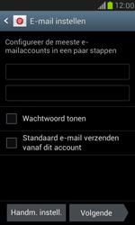 Samsung I8190 Galaxy S III Mini - E-mail - Account instellen (POP3 met SMTP-verificatie) - Stap 6