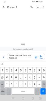 Huawei P Smart 2020 - Contact, Appels, SMS/MMS - Envoyer un SMS - Étape 9