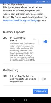 Huawei P Smart - Apps - Konto anlegen und einrichten - 18 / 20