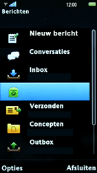 Sony Ericsson U8i Vivaz Pro - E-mail - hoe te versturen - Stap 4