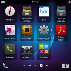 BlackBerry Q5 - netwerk en bereik - gebruik in binnen- en buitenland - stap 3