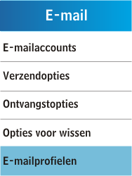 Samsung C3300K - E-mail - Handmatig instellen - Stap 7