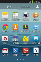 Samsung S6310 Galaxy Young - SMS - Manual configuration - Step 3