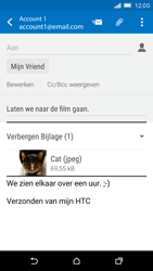 HTC One M9 - E-mail - E-mails verzenden - Stap 16
