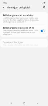 Samsung Galaxy A51 5G - Aller plus loin - Mettre à jour le logiciel interne de votre mobile - Étape 6