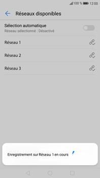 Huawei Mate 9 - Réseau - Sélection manuelle du réseau - Étape 10