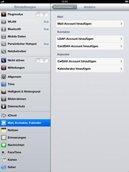 Apple iPad mini - E-Mail - Manuelle Konfiguration - Schritt 6