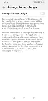 Huawei Y5 (2019) - Données - créer une sauvegarde avec votre compte - Étape 6