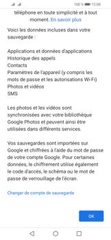 Huawei Y6 (2019) - Données - créer une sauvegarde avec votre compte - Étape 11