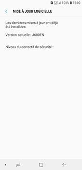 Samsung Galaxy J6 - Aller plus loin - Mettre à jour le logiciel interne de votre mobile - Étape 8