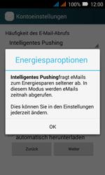 Huawei Y3 - E-Mail - Konto einrichten (outlook) - Schritt 8