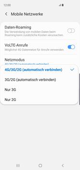 Samsung Galaxy S10 - Netzwerk - Netzwerkeinstellungen ändern - 7 / 8