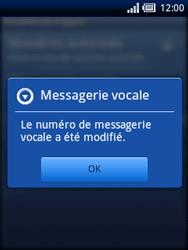 Sony Ericsson Xperia X10 Mini - Messagerie vocale - configuration manuelle - Étape 7