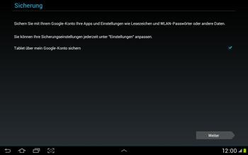 Samsung Galaxy Tab 2 10.1 - Apps - Einrichten des App Stores - Schritt 15