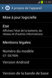 Samsung Galaxy Fame Lite - Logiciels - Installation de mises à jour - Étape 6