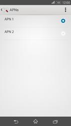 Sony Xperia E4G - Internet - Apn-Einstellungen - 17 / 29