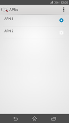 Sony Xperia E4G - Internet - Manuelle Konfiguration - 17 / 29
